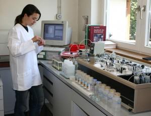 Nitrat- und Phosphatbestimmung